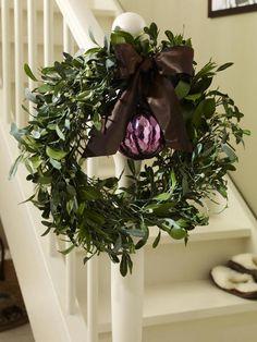 mistletoe wreath Misteln2