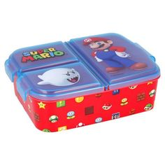 Super Mario Lunch Box Childrens Lunch Bags, Girls Lunch Bags, Paw Patrol Lunch Box, Lunch Box With Compartments, Disney Frozen, Super Mario, Superman, Back To School, Marvel