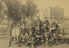 Group portrait of the San Fernando Baseball Team in 1910. San Fernando Valley History Digital Library.