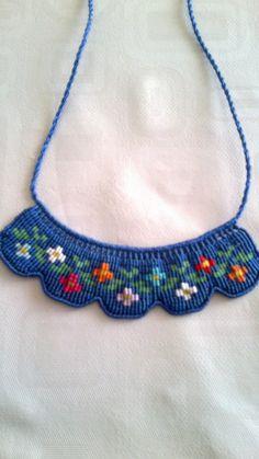 Nodino. Micro macrame jewelry. Wonderful!