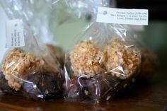 Marshmallow & Caramel Rice Krispies Treats