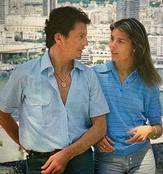 Erreur de jeunesse. #carolinedemonaco #princesscarolineofmonaco #philippejunot #Monaco