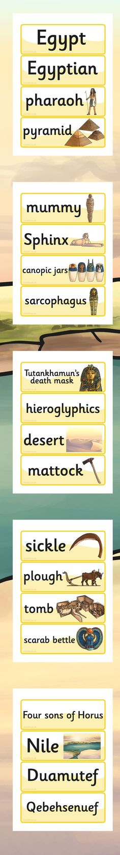 These fantastic Ancient Egypt resources are brilliant for learners and support teachers during their History lessons. Ancient Egypt For Kids, Old Egypt, Egypt Crafts, Sons Of Horus, Egyptian Party, Canopic Jars, 6th Grade Social Studies, Egyptian Pharaohs, Story Of The World