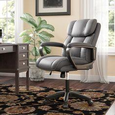 Beachcrest Home Cyra L Shaped Desk & Reviews | Wayfair L Shaped Executive Desk, Executive Chair, Home Office Chairs, Office Furniture, Furniture Decor, Office Decor, Solid Wood Desk, Floating Desk, Gaming Desk