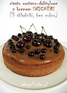 ciasto owsiane fit z owocami