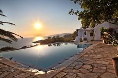 Villa Neptune - Mykonos - Discover your Glamorous Mediterranean Experience Mykonos, Glamorous, Island Villa, Traditional House, Mansions, House Styles, Design, Manor Houses, Villas