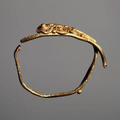 Fingerring. Græsk CC0Luk Finger ring. Greek, 440 BC-400 BC  Gold. 1,8 cm diamete