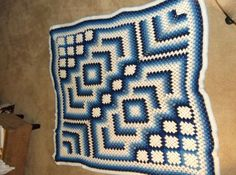 Ravelry: nanettew9's Drop in the Pond Blanket