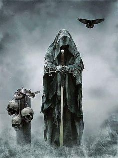 ✝ The Grimm Reaper Is Here To Take You Now..