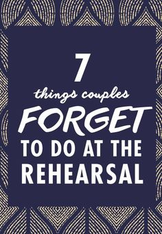 The rehearsal dinner is the kickoff to your wedding weekend, so you want things to start off smoothly and stress-free. There are also a few important items you need to check off your to-list, so make sure you don& forget them. Wedding Weekend, Budget Wedding, Plan Your Wedding, Wedding Day, Wedding Planner, Wedding Bells, Wedding Checklists, Wedding Gift Bags, Wedding Favors