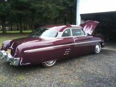 1953 Mercury  2 Door Hardtop looks just like my grandpas!