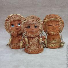 """Купить Колокольчик """" Солнышко"""" - колокольчик, керамика ручной работы, солнышко, русский сувенир"""