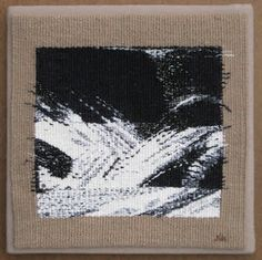 Janet Austin>Chaos Tapestry Series/Tangled Web: 2015 - New Year, New Tapestry Diary Textile Tapestry, Small Tapestry, Tapestry Design, Tapestry Weaving, Textile Art, Weaving Art, Hand Weaving, Textiles, Contemporary Tapestries