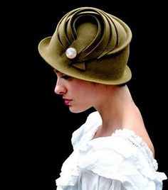 gorgeous cloche hat vintage inspired