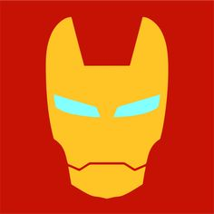 This is an Iron Man logo I made for fun, I made some others and I might upload them if you guys like this one. Man Vector, Vector Art, Superhero Party, Superhero Logos, Logo Super Heros, Iron Man Party, Iron Man Face, Iron Man Logo, Hero Crafts