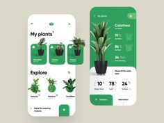 🌱 Smart Pot App designed by Sèrgi Mi for RonDesignLab. Connect with them on Dribbble; the global community for designers and creative professionals. Web Design, Page Design, Layout Design, Web Layout, Flat Design, Magazine Ideas, Ui Design Mobile, Mobile App Ui, Ui Design Inspiration