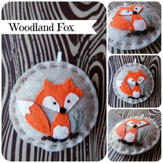 Woodland Fox Ornament | Flickr This exists and is adorable!