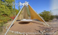 Round Outdoor Bed - Floating Bed