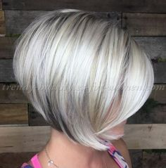 bob+haircut+-+silver+color+short+bob+
