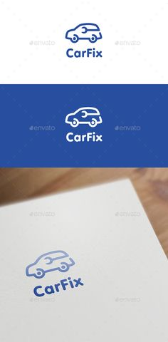 Car Fix — Vector EPS #grease monkey #car dealer • Available here → https://graphicriver.net/item/car-fix/13745457?ref=pxcr
