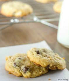 Almond Joy {Coconut-Almond-Chocolate Chip} Cookies