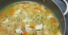 La meilleure recette de soupe poulet et nouilles maison - Recettes - Ma Fourchette