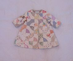 Quilt coat - Vintage Quilt - Upcycled Quilt - Unique Child's Coat - Antique Quilt Coat - Quilted Jacket - Quilted Coat - Size: 1 year by LittleRoseRabbit on Etsy https://www.etsy.com/listing/253359302/quilt-coat-vintage-quilt-upcycled-quilt