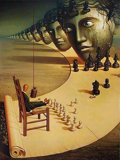 Conceptual Art, Surreal Art, Rene Magritte, Surrealism Painting, Art Academy, Oeuvre D'art, Fantasy Art, Modern Art, Cool Art