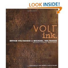 the first cookbook by my favorite Top Chef competitors...VOLT ink.: Recipes, Stories, Brothers  Bryan and Michael Voltaggio, Ed Anderson, Charlie Palmer: Books