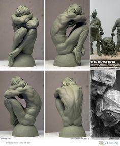 Szobrok, dekorációk, figurák, 3D látványtervek készítése. Műgyanta, gipsz, fa, polisztirol, polyresin tárgyak, szobrászat.