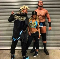 Enzo Amore, Carmella and Big Cass