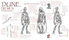 Dune - Fremen desert gear by Grigori77 on DeviantArt