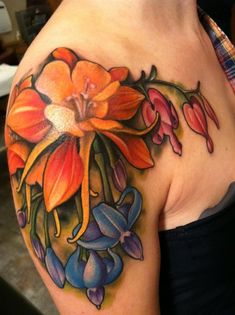 Tattoo colors and placement