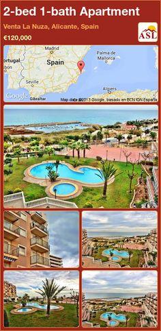2-bed 1-bath Apartment in Venta La Nuza, Alicante, Spain ►€120,000 #PropertyForSaleInSpain