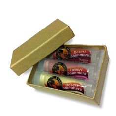 Joshua Tree Lip Balm Desert Shimmer Trio Gift Set Cholla Ocotillo and Nolina * To view further for this item, visit the image link. Lip Care, The Balm, Deserts, Image Link, Lipstick, Organic, Gifts, Lipsticks, Presents