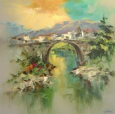 Painting By Josep Teixido http://avaxnews.net/charming/painting_by_josep_teixido.html