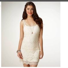 American Eagle Outfitters Crochet Dress