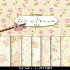 New Freebies Kit of Backgrounds - Date de Première