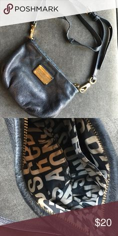 Marc Jacobs crossbody Black and gold Marc jacobs crossbody. There is some wear to the strap and fading inside. This bag goes with everything ! Marc by Marc Jacobs Bags Crossbody Bags