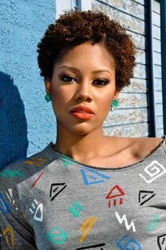 short hairstyles for black women _ natural hairstyles 15