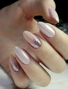 Stilvolle rosa Nagelkunst-Ideen Stylish Pink Nail Art Ideas Colorful Stylish Summer Nail Design Ideas for 2019 # manicure # short nails Pink Manicure, Pink Nail Art, Manicure Ideas, Nail Art Rose, Pale Pink Nails, Glitter Manicure, Classy Nail Art, Acrylic Nails For Summer Classy, Elegant Nails