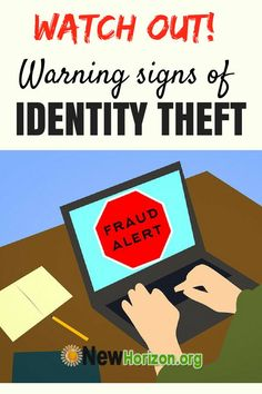 tell-tale signs you should be wary of to safeguard yourself against identity theft Identity Theft Insurance, Identity Theft Protection, Good Sleep, Warning Signs, Quality Time, Bullying, How To Get, Tips, Watch