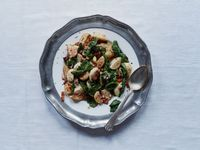Roasted Turnips and Greens with Bacon Vinaigrette Recipe   SAVEUR
