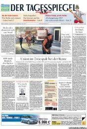 Der Tagesspiegel 1/28/2013 - Union im Zwiespalt bei der Rente