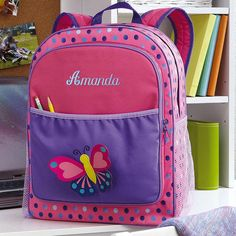 3-D Butterfly Backpack At LillianVernon.com