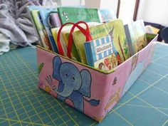 Tissue Box + Wrapping Paper + Book Box ~ tutorial