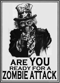 Well Are you? #Zombies