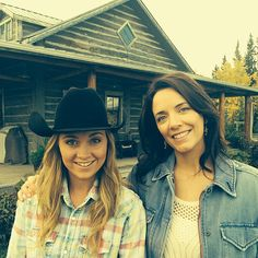 Amber and Michelle - Filming Season 8
