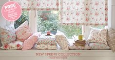 Love Cath Kidston fabrics...perfect for my little vintage camper!