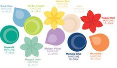 Pantone announces Top Colors for Women's Fashion for Spring 2013